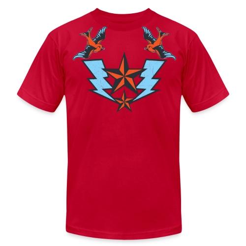 Vintage Tattoo Birds T-shirt - Men's  Jersey T-Shirt