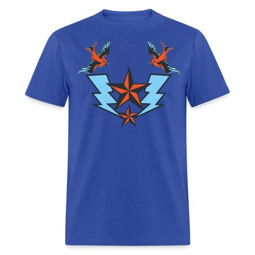 Vintage Tattoo Birds T-shirt - Men's T-Shirt