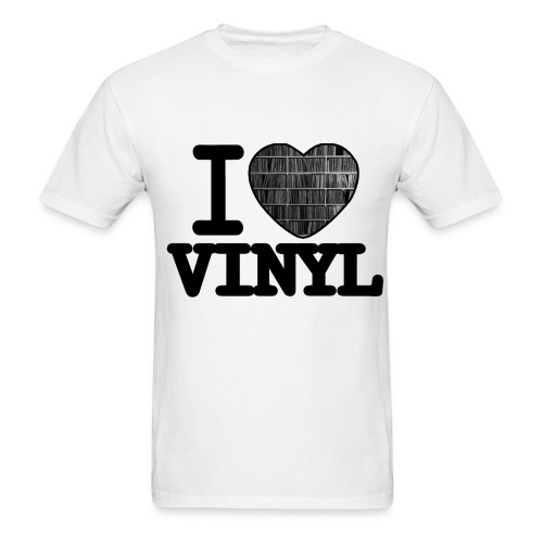 I heart Vinyl - Men's T-Shirt