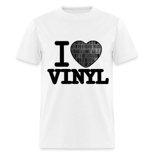 I heart Vinyl - Men's T-Shirt