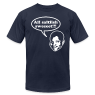 T-Shirts ~ Men's T-Shirt by American Apparel ~ All saltfish sweeeet!