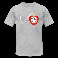 T-Shirts ~ Men's T-Shirt by American Apparel ~ Team Tin Man generic men's tee