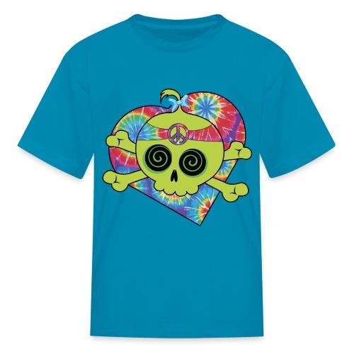 THE SKULL AND BONES - Kids' T-Shirt