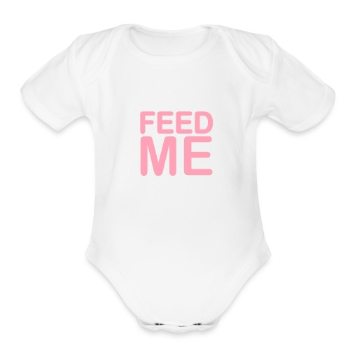 BABY'S SHORT SLEEVE ONE PIECE - Organic Short Sleeve Baby Bodysuit