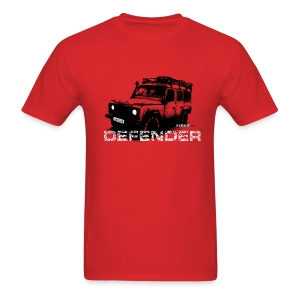 Land Rover Defender illustration / dd - Men's T-Shirt
