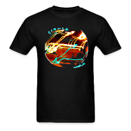 T-Shirts ~ Men's T-Shirt ~ Liquid world