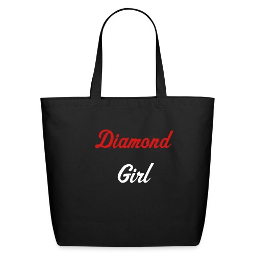 Bag Me 2- Diamond Girl - Eco-Friendly Cotton Tote