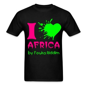 I love Africa - T-shirt pour hommes