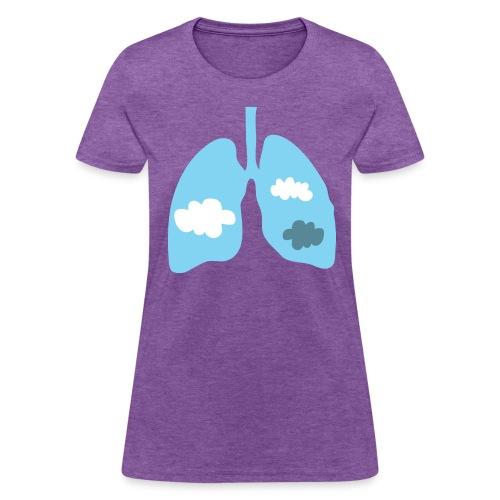 Body Expressive: Cloudy - Women's T-Shirt