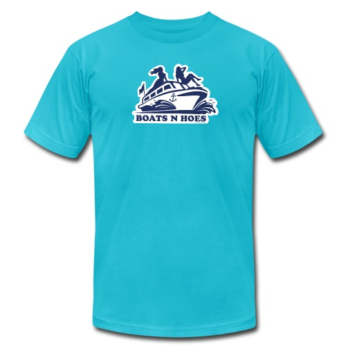 Boats n Hoes Short Sleeve - Men's Fine Jersey T-Shirt