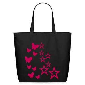 peace and love makes the world go round - Eco-Friendly Cotton Tote