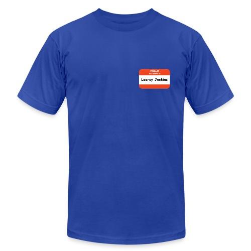 Hello, my name is Leeroy Jenkins - Men's Fine Jersey T-Shirt