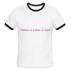 Passion T Ole Skool Redman - Men's Ringer T-Shirt