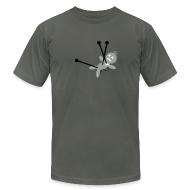 T-Shirts ~ Men's T-Shirt by American Apparel ~ Voodoo Doll 3.0