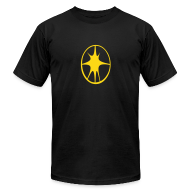 T-Shirts ~ Men's T-Shirt by American Apparel ~ Blast