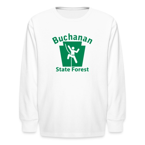 Buchanan State Forest Keystone Climber - Kids' Long Sleeve T-Shirt