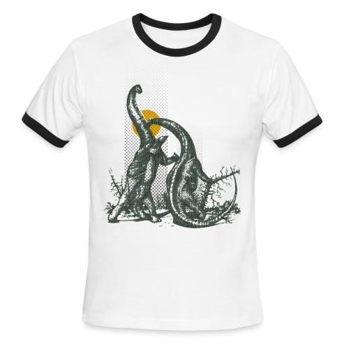 New Designer T-shirt - Men's Ringer T-Shirt