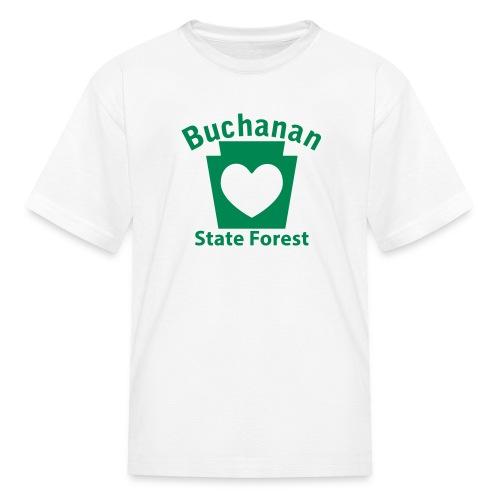 Buchanan State Forest Keystone Heart - Kids' T-Shirt
