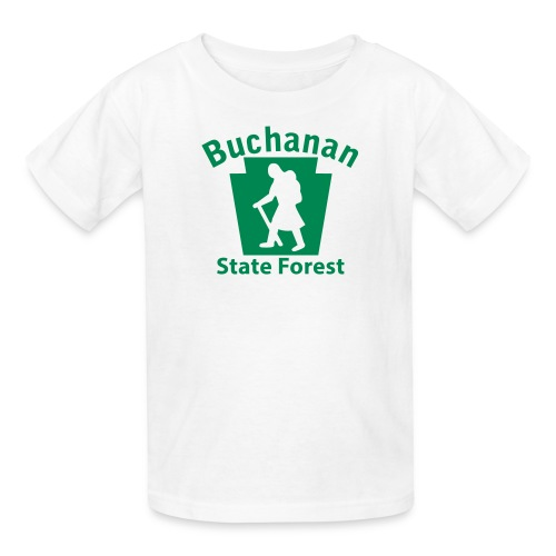 Buchanan State Forest Keystone Hiker (female) - Kids' T-Shirt
