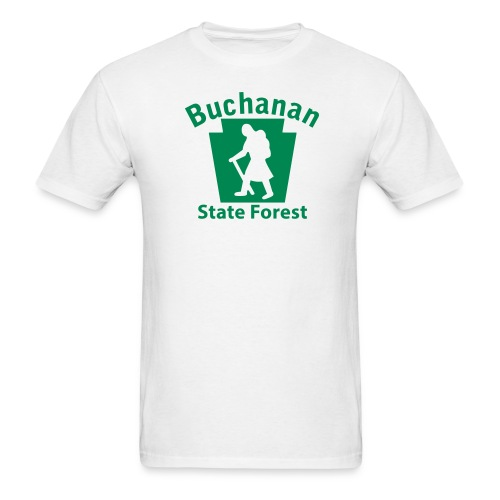 Buchanan State Forest Keystone Hiker (female) - Men's T-Shirt