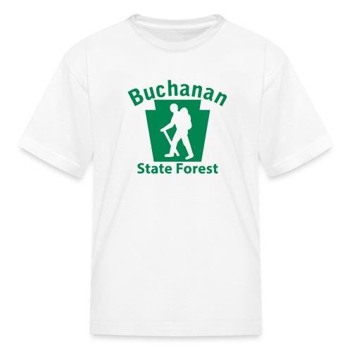 Buchanan State Forest Keystone Hiker (male) - Kids' T-Shirt
