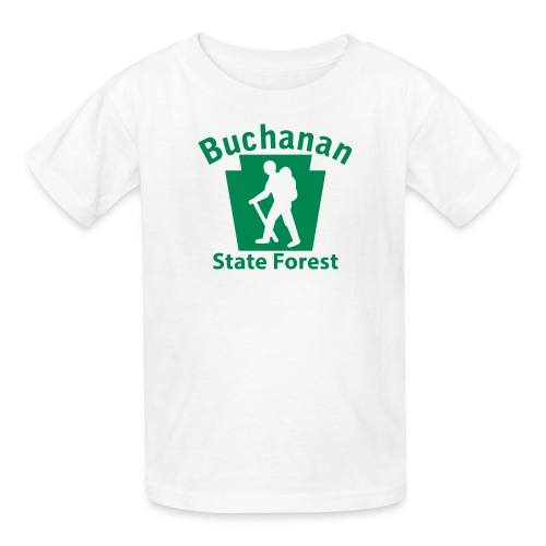 Buchanan State Forest Keystone Hiker (male) - Kids' T-Shirt