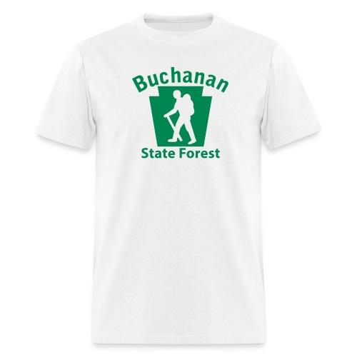 Buchanan State Forest Keystone Hiker (male) - Men's T-Shirt