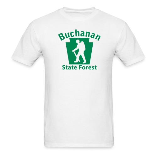 Buchanan State Forest Keystone Hiker (male) - Men's T-Shirt