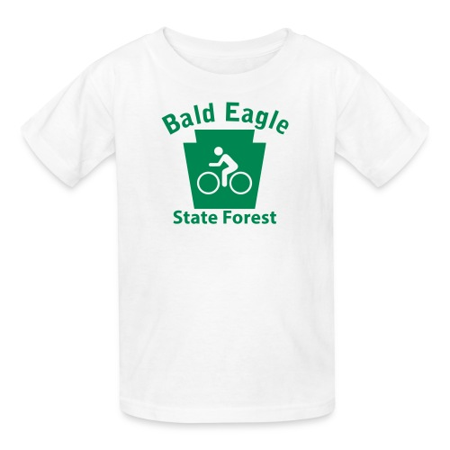 Bald Eagle State Forest Keystone Biker - Kids' T-Shirt