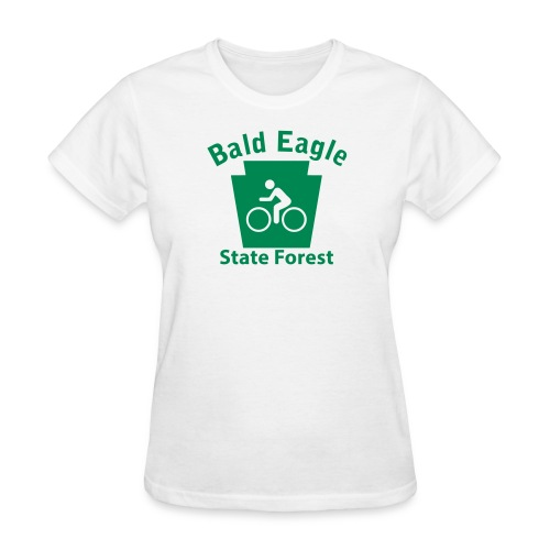 Bald Eagle State Forest Keystone Biker - Women's T-Shirt