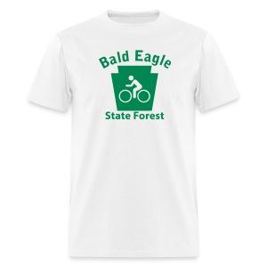 Bald Eagle State Forest Keystone Biker - Men's T-Shirt