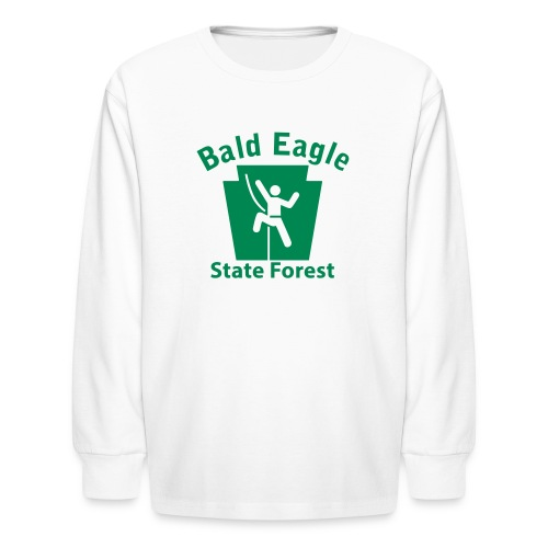 Bald Eagle State Forest Keystone Climber - Kids' Long Sleeve T-Shirt