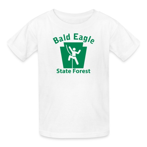 Bald Eagle State Forest Keystone Climber - Kids' T-Shirt