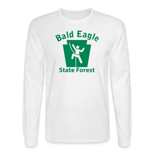 Bald Eagle State Forest Keystone Climber - Men's Long Sleeve T-Shirt