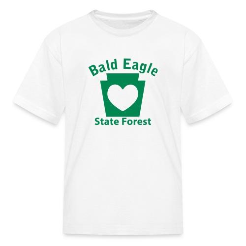 Bald Eagle State Forest Keystone Heart - Kids' T-Shirt