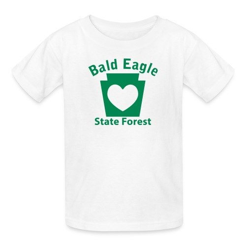 Bald Eagle State Forest Keystone Heart - Kids' T-Shirt