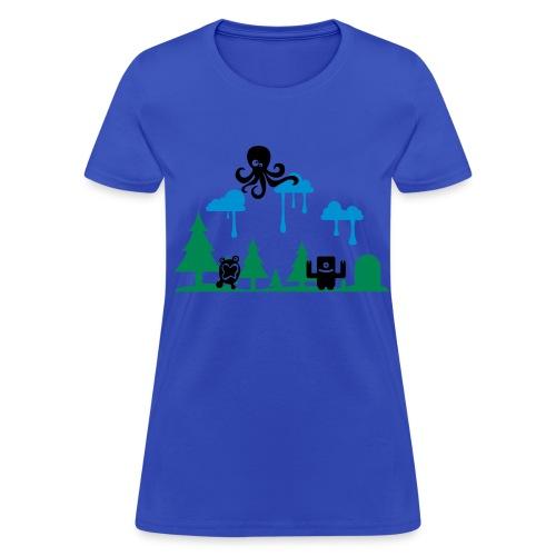 Women`s Bleeding Rain T - Women's T-Shirt