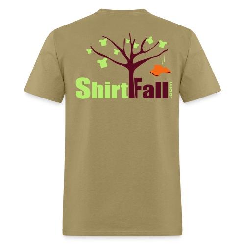 Men`s ShirtFall Logo T on Back - Men's T-Shirt