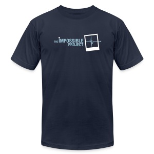 The Impossible Project (Navy) - Men's T-Shirt by American Apparel