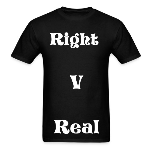 Right V Real (Guitarist Adam) - Men's T-Shirt