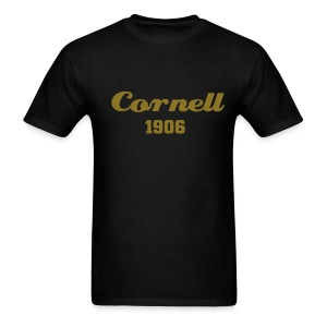 Alpha 1906 - Cornell Tee Black and Gold - Men's T-Shirt