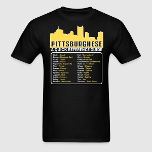 Guide to Pittsburghese - Men's T-Shirt
