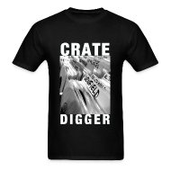 T-Shirts ~ Men's T-Shirt ~ Certified Crate Digger