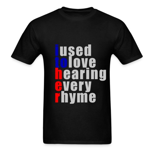 I used to love h.e.r - Men's T-Shirt