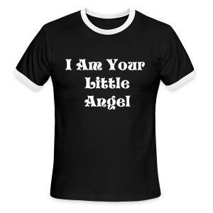 I Am Your Little Angel - Men's Ringer T-Shirt