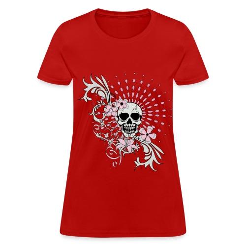 Skull Tee - Women's T-Shirt