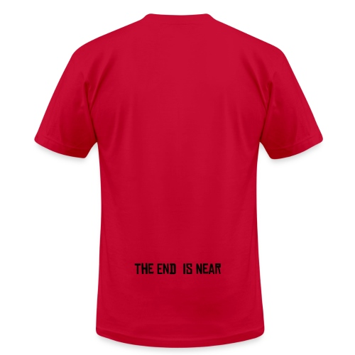The End is Near - Men's  Jersey T-Shirt