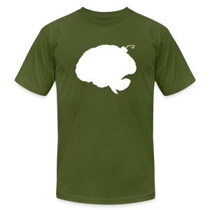 Brainbomb - Men's T-Shirt by American Apparel