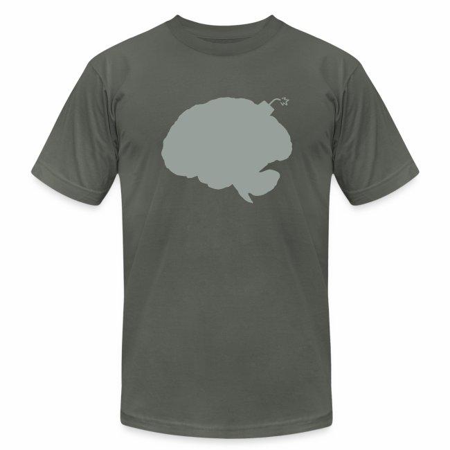 Brainbomb - Gray on Asphalt