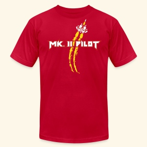 Mk. II Pilot  - Men's T-Shirt by American Apparel